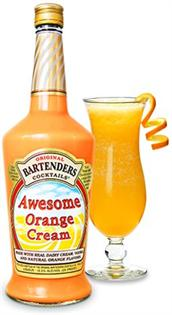 Original Bartenders Cocktails Awesome Orange Cream 1.75l